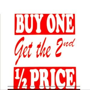 Jewelry - All jewelries are Buy 1 Get 1 Half Off .